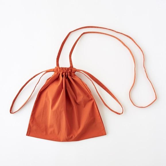 【写真】Drawstring Bag Strap オレンジ SS