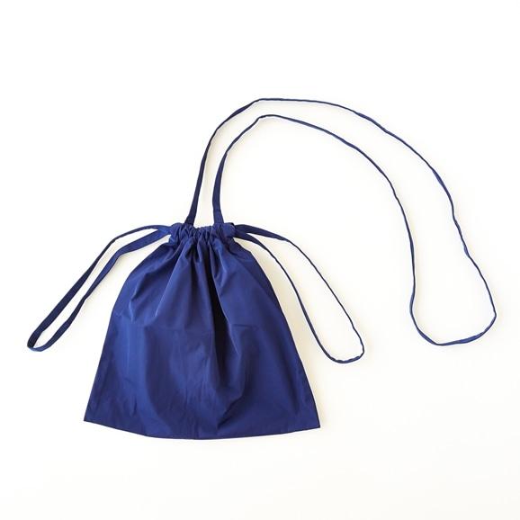 【写真】Drawstring Bag Strap ブルー SS
