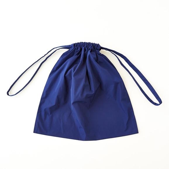 【写真】Drawstring Bag ブルー