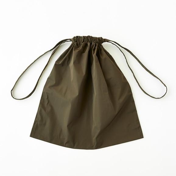 【写真】Drawstring Bag カーキ