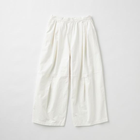 【写真】POOL いろいろの服 ニータックワイドパンツ ホワイト