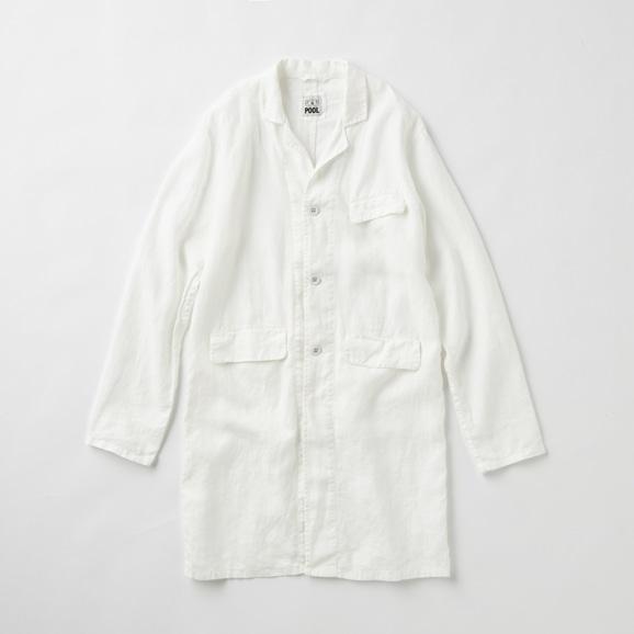 【写真】POOL いろいろの服 アトリエコート ホワイト