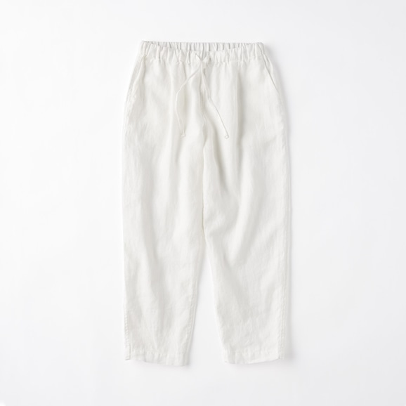 【写真】POOL いろいろの服 テーパードパンツ L ホワイト 2021SS