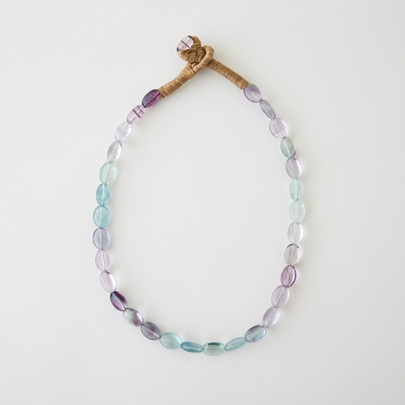 【写真】sai Necklace Fluorite