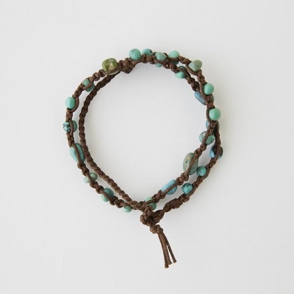 【写真】sai Bracelet Green Turquoise