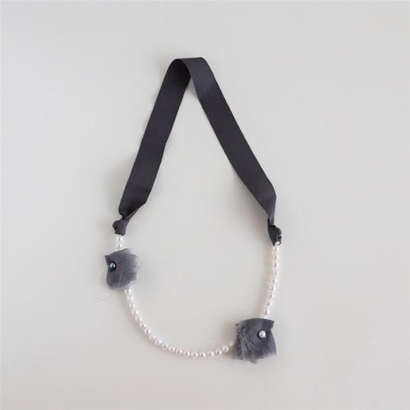 【写真】sai Necklace Pearl White