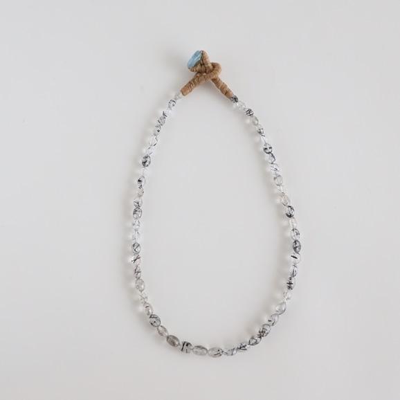 【写真】sai Necklace Black Rutile Quartz