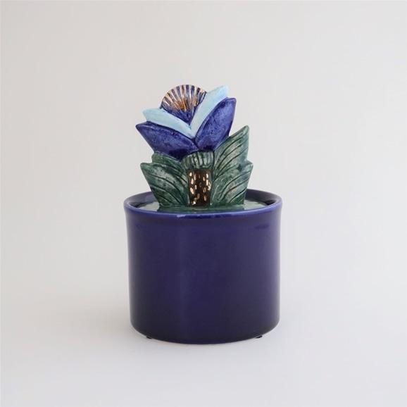 【写真】【定番品】Lisa Larson Jar with Lid big flower C
