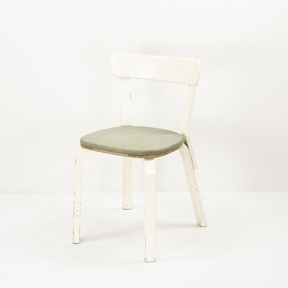 【写真】【Auction #01】Alvar Aalto Chair No69 (1940's)