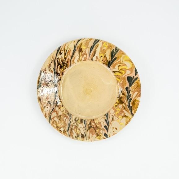 【写真】Poterie de Sampigny マーブル皿