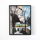 チャールズ・E. マーティン 「THE NEW YORKER VISITS THE GUGGENHEIM」