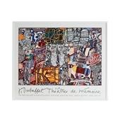 ジャン・デュビュッフェ 「Theatre De Memoire 1977」