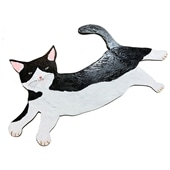 【一点物】そで山 かほ子 「hachiware CAT」