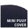 MINI PUUF Cover Navy