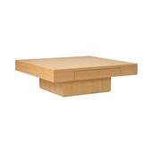 De-foe SQUARE LOW TABLE Natural
