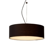ORB CEILING LAMP 7 Black