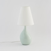 AIL VASE LAMP Pale green