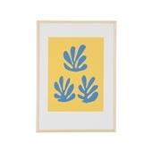 【定番品】アンリ・マティス 「青いシートと黄色い背景」