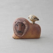 【定番品】Lisa Larson Lion with Bird