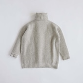 H& by POOL Wool Turtle-neck Sweater Gray 2021AW