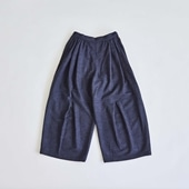 H& by POOL Wide Pants Navy 2021AW