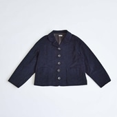 H& by POOL Corduroy Jacket Navy 2021AW
