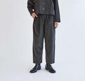 H& by POOL Corduroy Pants Charcoal 2021AW