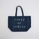 POWER OF INDIGO 2WAYトートバッグ Indigo