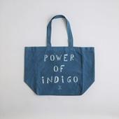 POWER OF INDIGO 2WAYトートバッグ Light Indigo