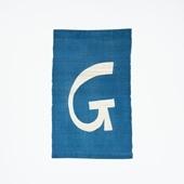 【受注生産品】POWER OF INDIGO 暖簾「G」