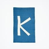 【受注生産品】POWER OF INDIGO 暖簾「K」