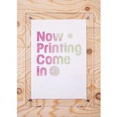 【一点物】Paper Parade Printing 「Now Printing」