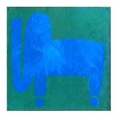 【一点物】遠山敦 「Sky Blue Elephant」