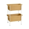 WALLABY BASKET STAND White