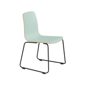 LANGUE STACKING CHAIR Green