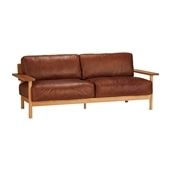 20★DIMANCHE SOFA (3) Leather