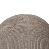 MINI PUUF Cover MELANGE Sepia brown