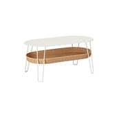 WALLABY LOW TABLE OVAL White