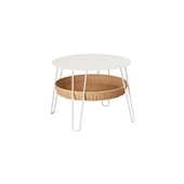 WALLABY LOW TABLE ROUND White
