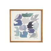 【定番品】BIRDS' WORDS グラフィック ブルーバード 30