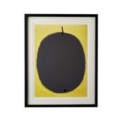 【定番品】パウル・クレー 「Fruit negre,1934」ブラックフレーム