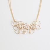 asumi bijoux petal necklace