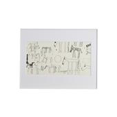 猪熊弦一郎 「Horse White」/Rare ART POSTER展 feat. NIPPON