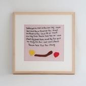 【一点物】モン族の刺繍アート「ワーチュン 003/6」