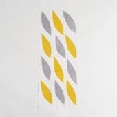 【IDEE TOKYO限定】柚木沙弥郎デザイン IDEE Daily Cloth リーフ イエロー&グレー