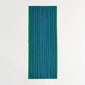 【IDEE TOKYO限定】柚木沙弥郎デザイン IDEE Daily Cloth ライン グリーン&ブルー