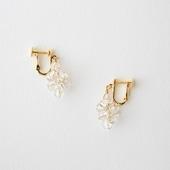 asumi bijoux asatsuyu tubu earring crystal