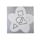 【一点物】松林誠「銀の花 01」