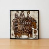 Vintage Lisa Larson Unik Elefant