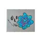 【一点物】舞木和哉 「blue flower」